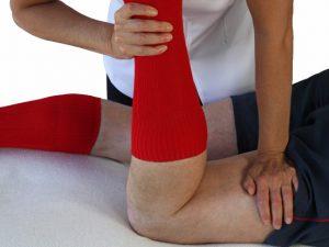 Body Leg sports massage