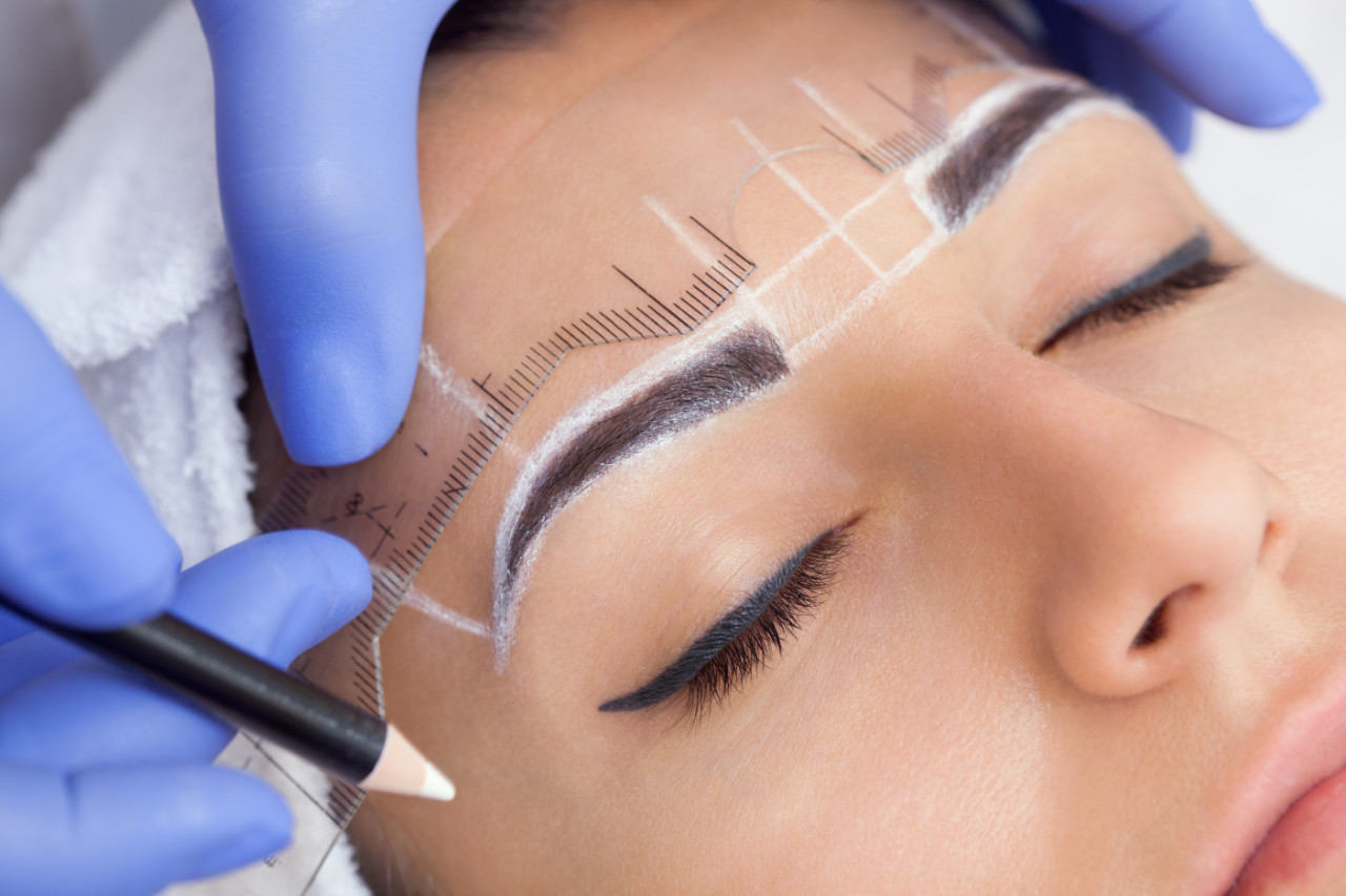 Micro blading - semi permanent make up for eyebrows Watford