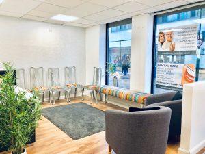 Watford Dental Clinic Reception Waiting Area